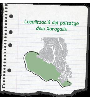 mapa xaragalls