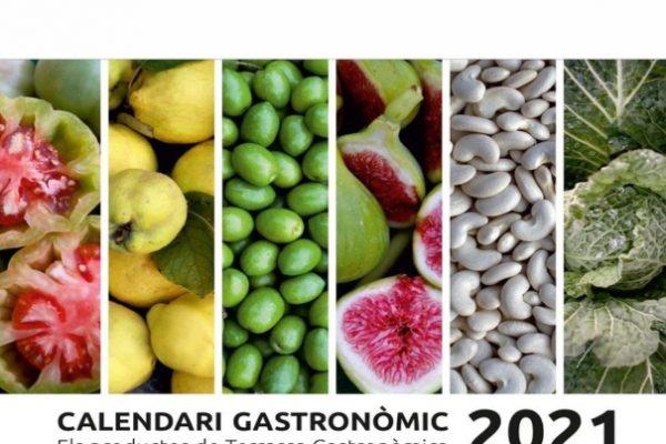 Portada calendari 2021 Terrassa Gastronòmica